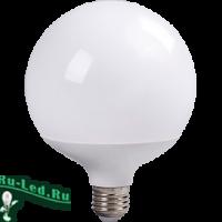 Ecola globe   LED Premium 30,0W G120 220V E27 2700K 320° шар (композит) 170x120