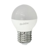 Ecola globe   LED Premium  8,0W G45  220V E27 2700K шар (композит) 75x45