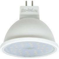 Ecola MR16   LED  7,0W  220V GU5.3 4200K прозрачное стекло (композит) 48x50