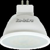 Ecola MR16   LED Premium  7,0W  220V GU5.3 4200K матовое стекло (композит) 48x50