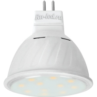 Ecola MR16   LED Premium 10,0W  220V GU5.3 4200K прозрачная 51x50