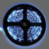 Ecola LED strip PRO  4,8W/m 12V IP20   8mm  60Led/m Blue синяя светодиодная лента на катушке 5м.