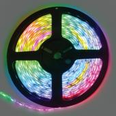 Ecola LED strip PRO 14.4W/m 12V IP65 10mm 60Led/m RGB разноцветная светодиодная лента на катушке 5м.