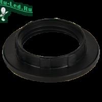Ecola base Кольцо дополнительное к патрону E14 Черный (1 из уп. по 100)