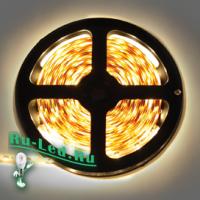 Ecola LED strip 220V STD  7,2W/m IP68 14x7 30Led/m 2800K 12Lm/LED 360Lm/m лента  50м.