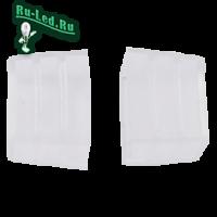 Ecola LED strip 220V connector end cap заглушка для IP68 12x7 ленты уп. 10шт
