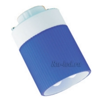 Ecola GX40 11W DFC 220V GX40 2700K лампа в голубом корпусе 75x50