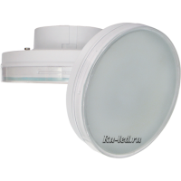 Ecola GX70   LED Premium 20,0W Tablet 220V 2800K матовое стекло (композит) 111х42