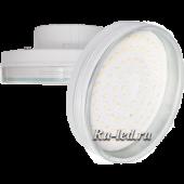Ecola GX70   LED 10.0W Tablet 220V 4200K прозрачное стекло 111х42