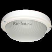 Ecola Light GX53 LED ДПП 03-18-103 светильник  Круг накладной 3*GX53 матовое стекло IP65 белый 280х280х90
