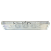 Ecola Light GX53 LED ДПО12-2х8-001 светильник  прямоугольный накладной 5*GX53 прозрачный белый 638х165х70