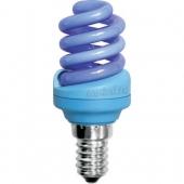 Ecola Spiral Color 12W 220V E14 Blue Синий 95x43