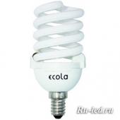Ecola Spiral 25W Slim Full 220V E14 6400K 107x50
