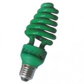 Ecola Spiral Color 20W 220V E27 Green Зеленый 148x60