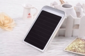 внешний аккумулятор с солнечной батареей 5700 Ман