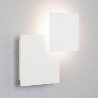 Настенный светодиодный светильник Eurosvet Screw 40136/1 белый