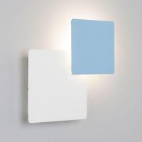 Настенный светодиодный светильник Eurosvet Screw 40136/1 белый/голубой