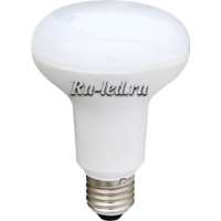 Ecola Reflector R80   LED Premium 12,0W  220V E27 2800K (композит) 114x80