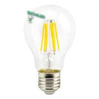 Ecola classic   LED Premium 10,0W A60 220-240V E27 4000K 360° filament прозр. нитевидная (Ra 80, 100 Lm/W, КП=0) 105x60