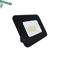 Ecola Projector  LED  50,0W 220V 6000K IP65 Светодиодный Прожектор тонкий Черный 234x174x44