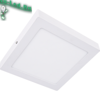 Ecola LED downlight накладной Квадратный даунлайт с драйвером 18W 220V 4200K 220x220x32