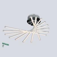 00127-8-35W-3000К Люстра светодиодная потолочная хром